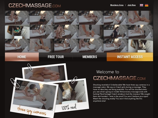 Czechmassage Password Free