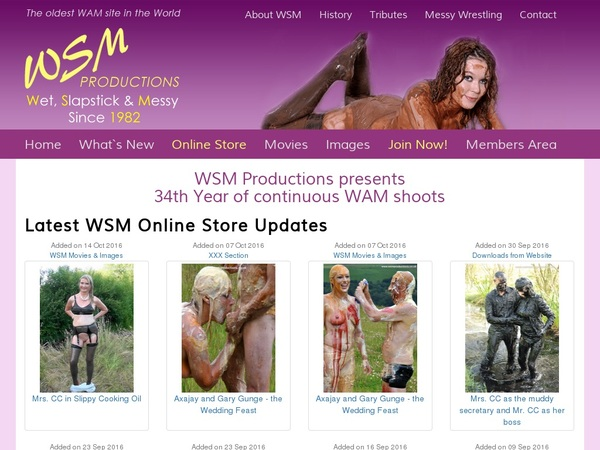 Wsmproductions.co.uk Member Discount
